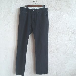 AGAVE DENIM CO BLACK JEANS PRAGMATIST 35